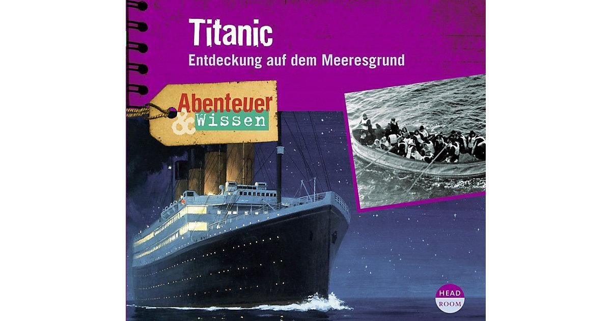 Abenteuer & Wissen: Titanic, 1 Audio-CD