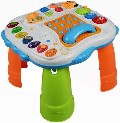 Spieltisch Lerntisch inklusive Klavier mit Spielmelodie mehrfarbig
