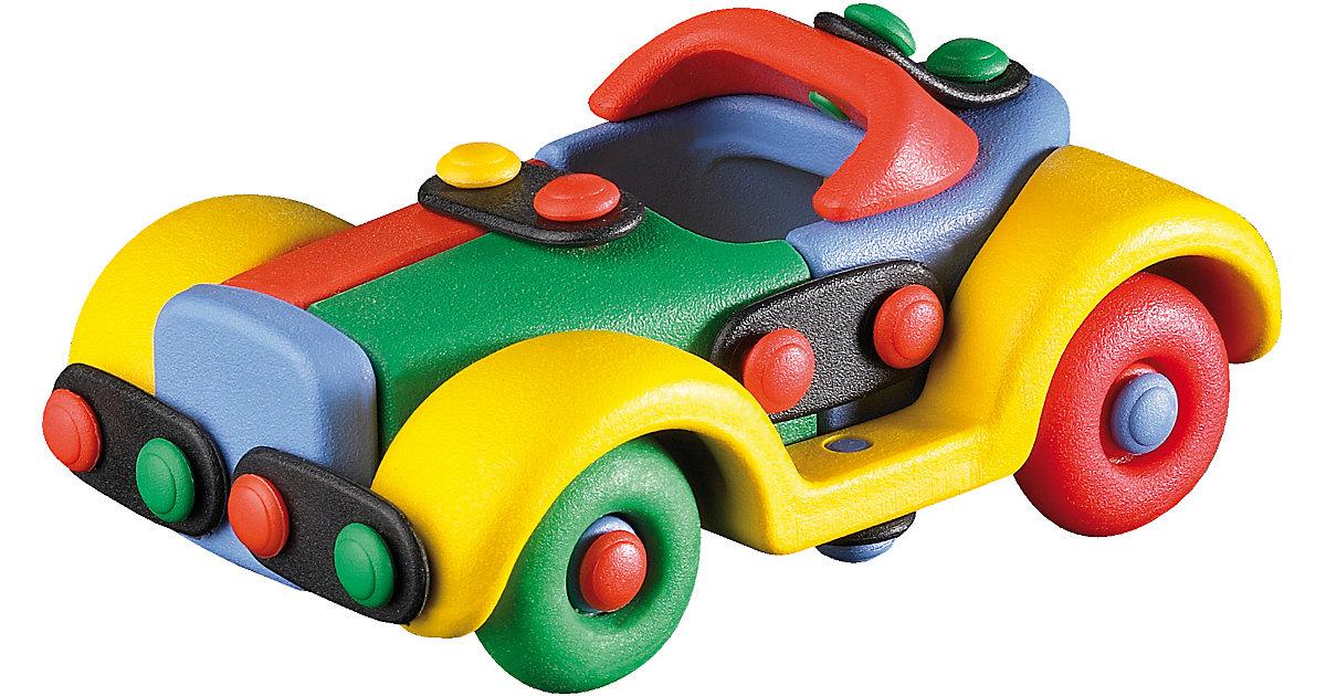 Kleines Auto bunt