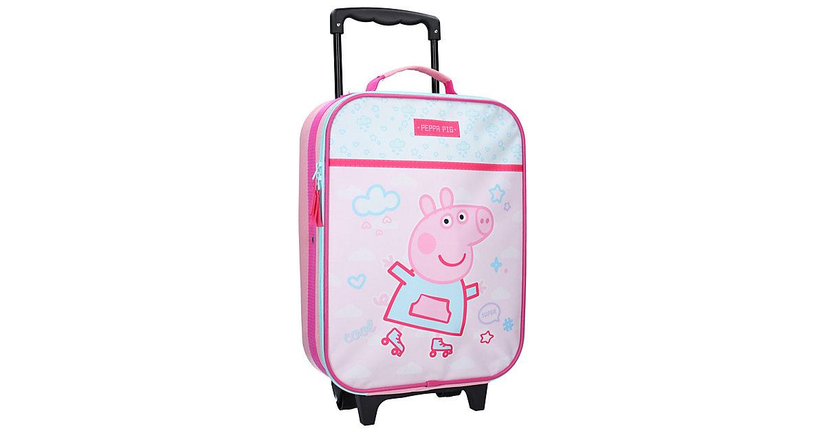 Trolley Koffer Peppa Pig Roll with me Trolleys rosa