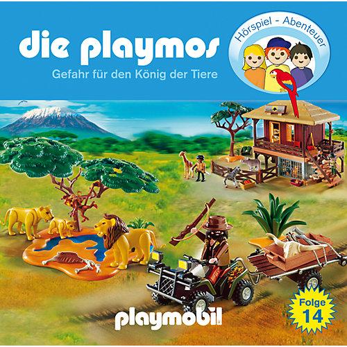 Edel CD Die Playmos 14 - Gefahr den König der Tiere Kinder Sale Angebote Sargstedt