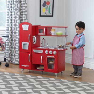 Genial Spielküche Retro, Rot Spielküche Retro, Rot 2