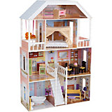 """Кукольный домик для Барби KidKraft """"Саванна"""", с мебелью, 14 элементов"""