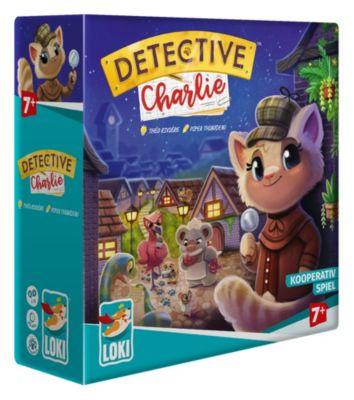 Detective Charlie - kooperatives Kartenspiel