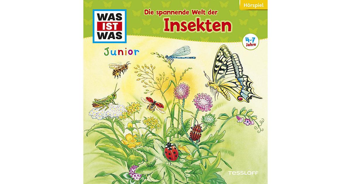 Was ist Was JUNIOR - Die spannende Welt der Insekten, Audio-CD Hörbuch