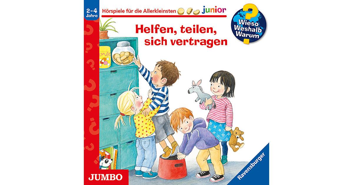 WiesoWeshalbWarum Junior - Helfen, teilen, sich vertragen, Audio-CD Hörbuch