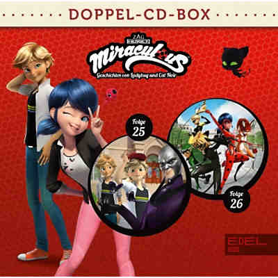 Miraculous - Folge 25 und 26, Doppel-CD