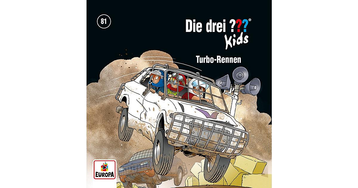 Die drei ??? kids 81 - Turbo-Rennen, Audio-CD Hörbuch