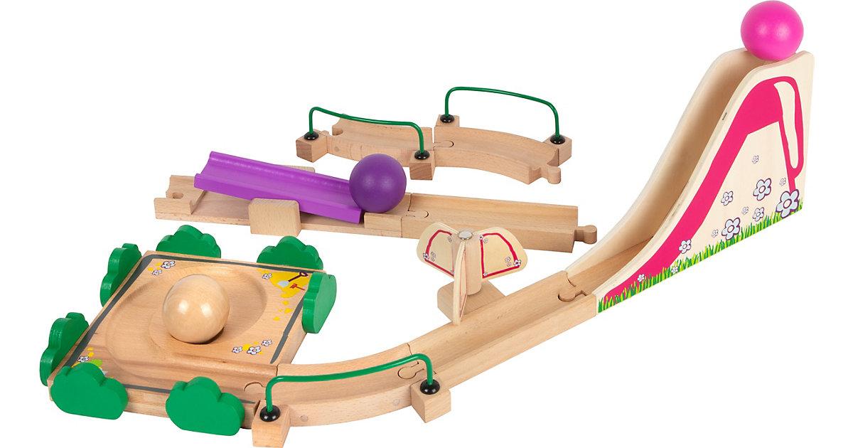 Kugelbahn Junior Spielplatz bunt