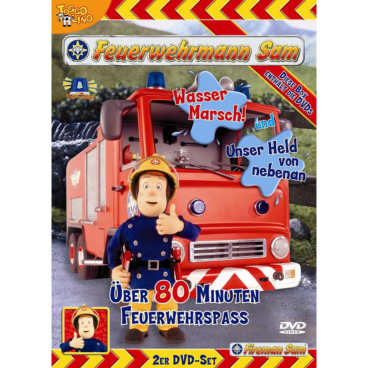 dvd feuerwehrmann sam 2dvd box vol 1 feuerwehrmann sam