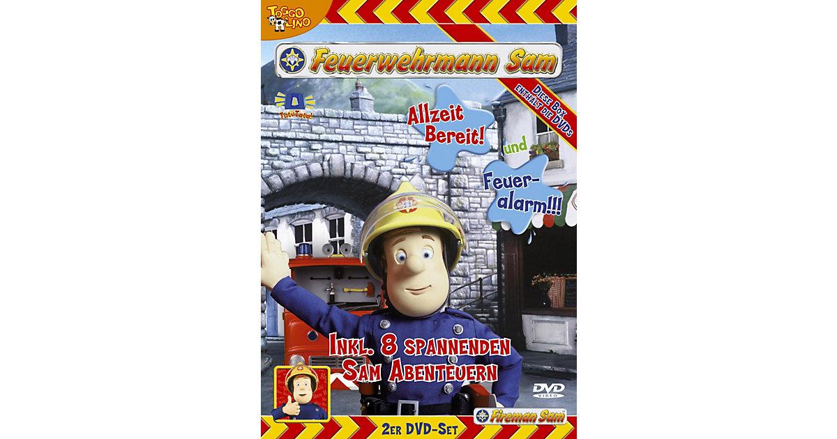 DVD Feuerwehrmann Sam 2-DVD Box Vol. 2 Hörbuch