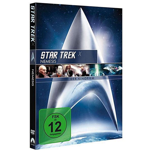 DVD Star Trek 10 - Nemesis - Remastered