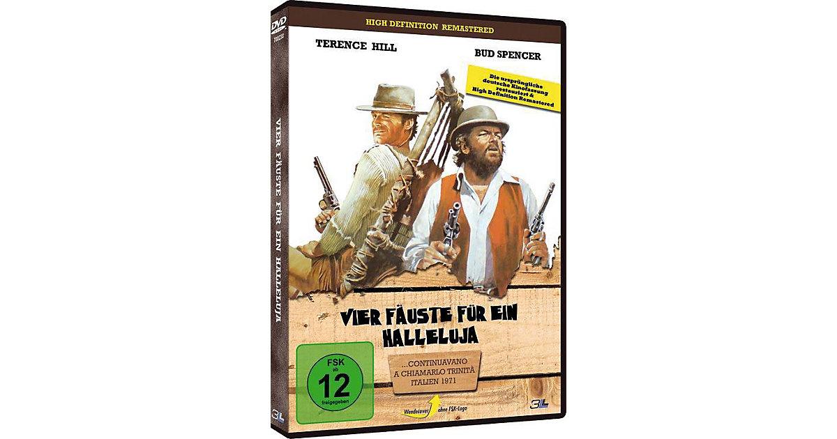 DVD Vier Fäuste ein Halleluja (High Def. Remast...