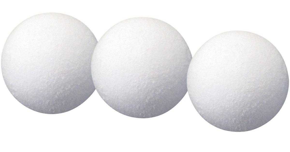 Ersatzbälle Kicker, 3 Stück weiß  Kinder