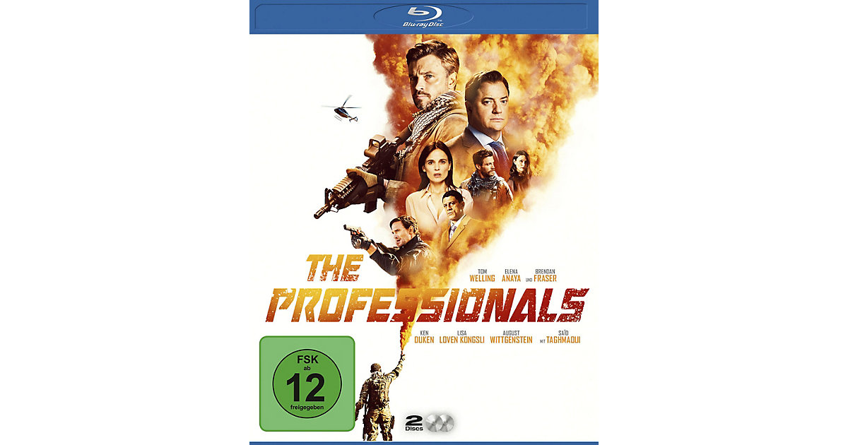 BLU-RAY The Professionals BD Hörbuch