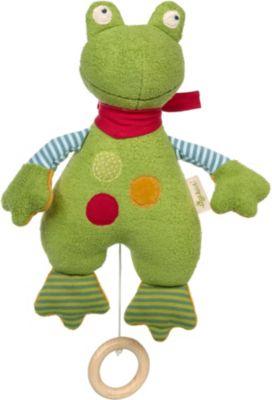 Spieluhr Frosch Green (39497) grün