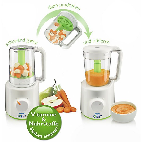 Dampfgarer und Mixer SCF870/20, PHILIPS AVENT | myToys