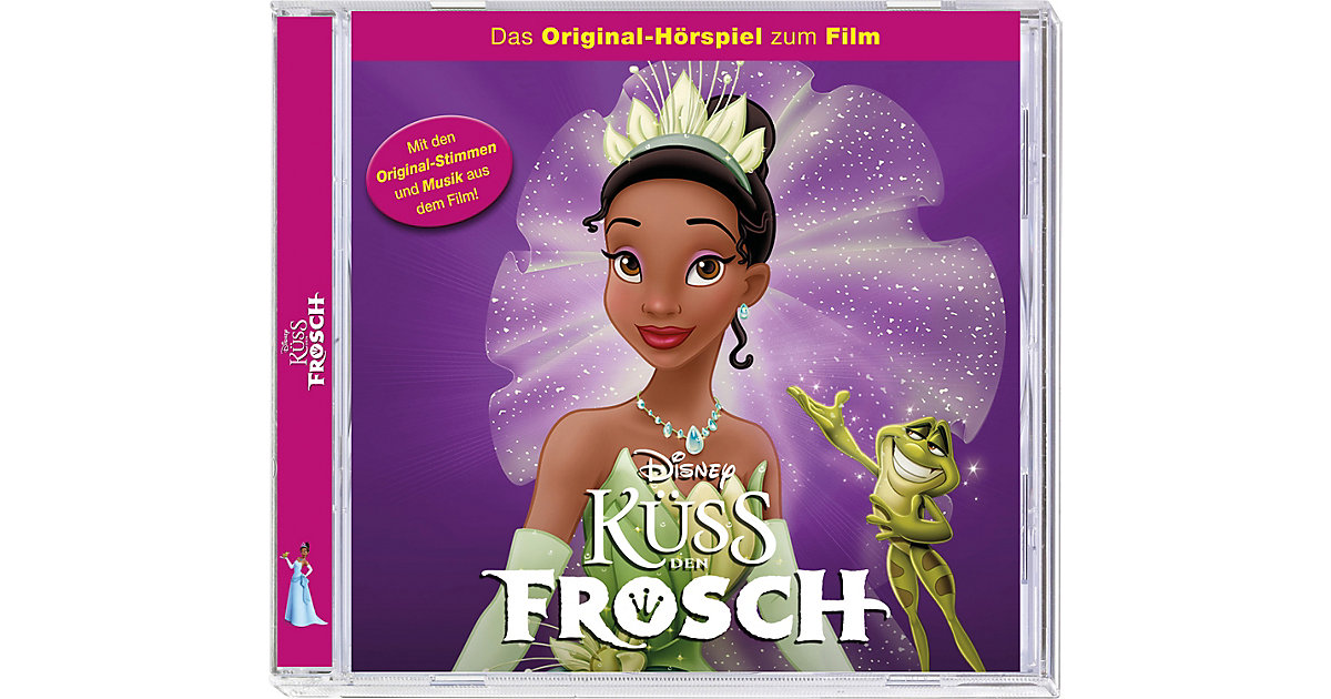 CD Küss den Frosch