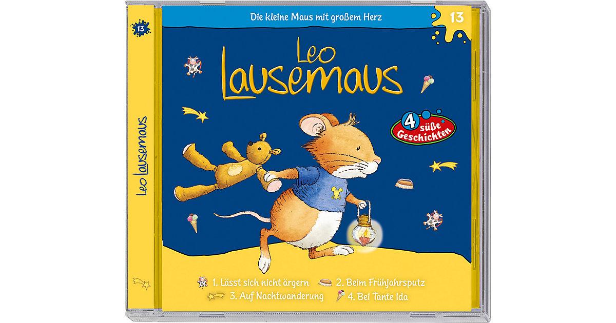 Leo Lausemaus F13 - lässt sich nicht ärgern Hörbuch