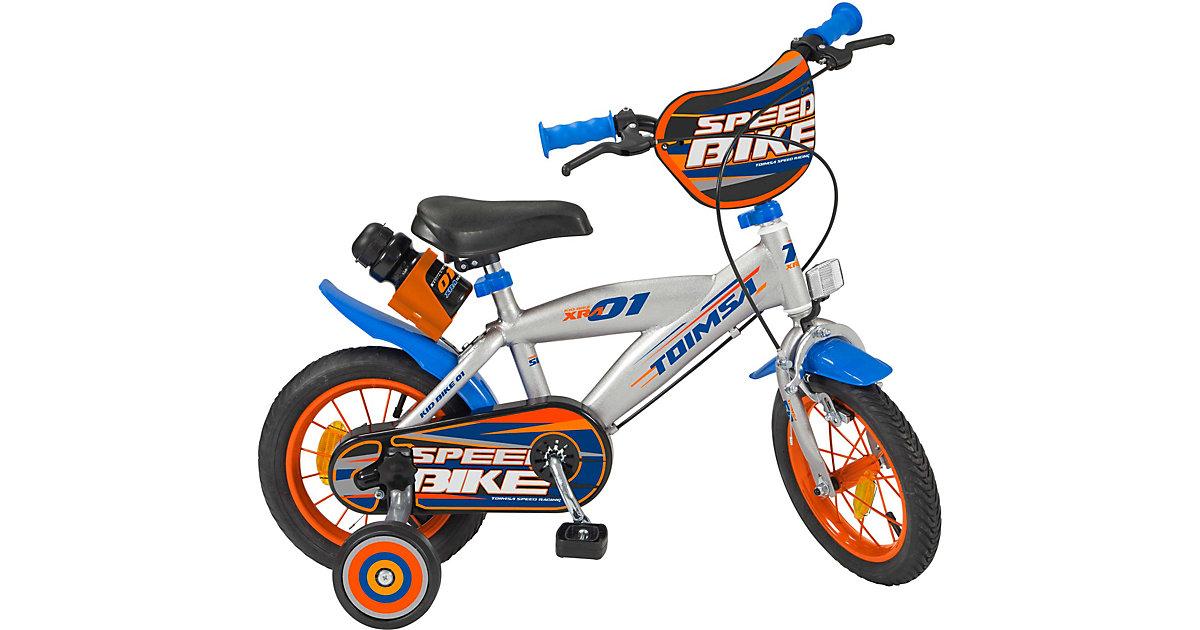 Fahrrad 12 Zoll Speed Racing silber-kombi