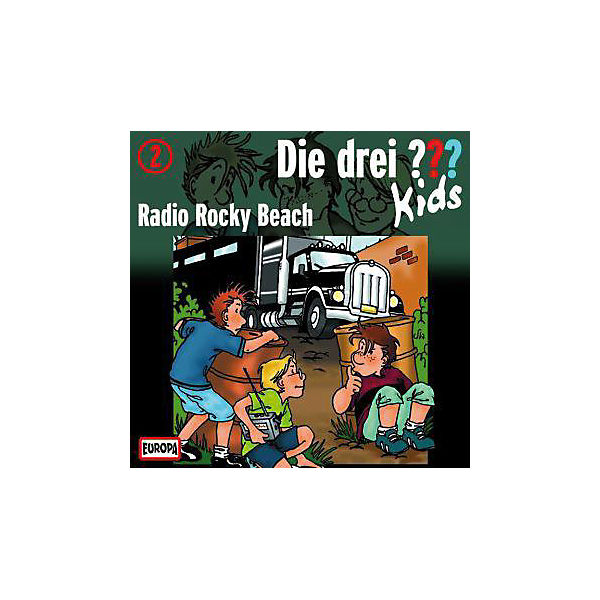 Die drei ??? Kids: Radio Rocky Beach, 1 Audio-CD