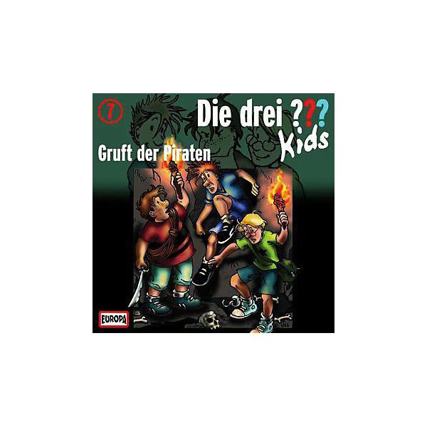 Die drei ??? Kids: Gruft der Piraten, 1 Audio-CD