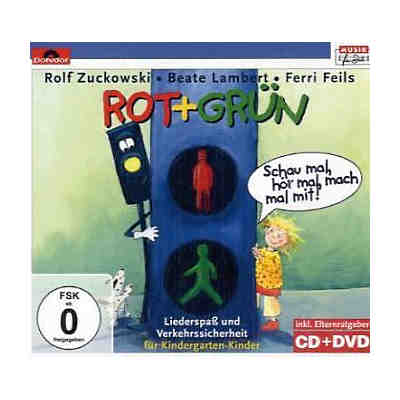 Rot + Grün, 1 CD-Audio + 1 DVD-Video