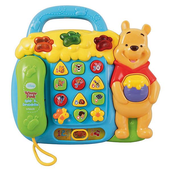 Winnie Puuh Spiel- & Lerntelefon, Disney Winnie Puuh   myToys