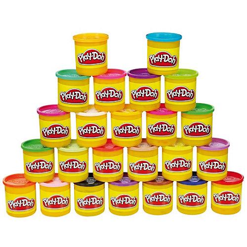 Набор пластилина 24 банки, Play-Doh от Hasbro