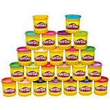 Набор пластилина 24 банки, Play-Doh
