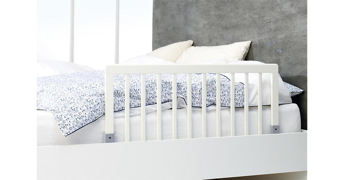 Baby Dan · Bettschutzgitter aus Holz, weiß, Länge 90 cm