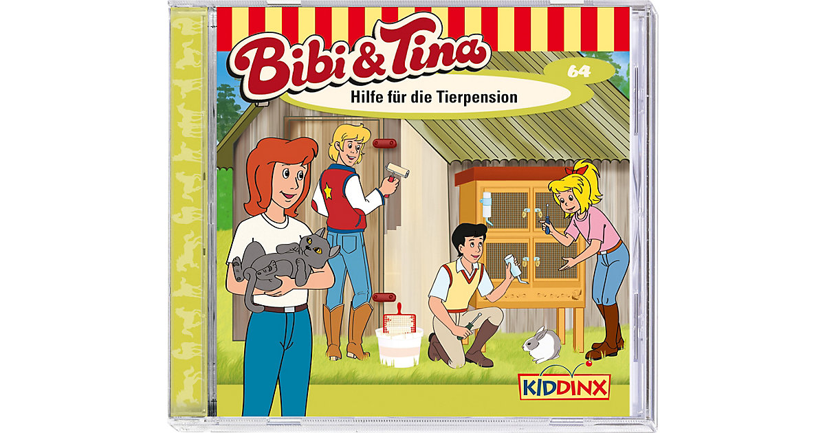 CD Bibi & Tina 64 - Hilfe die Tierpension Kinder
