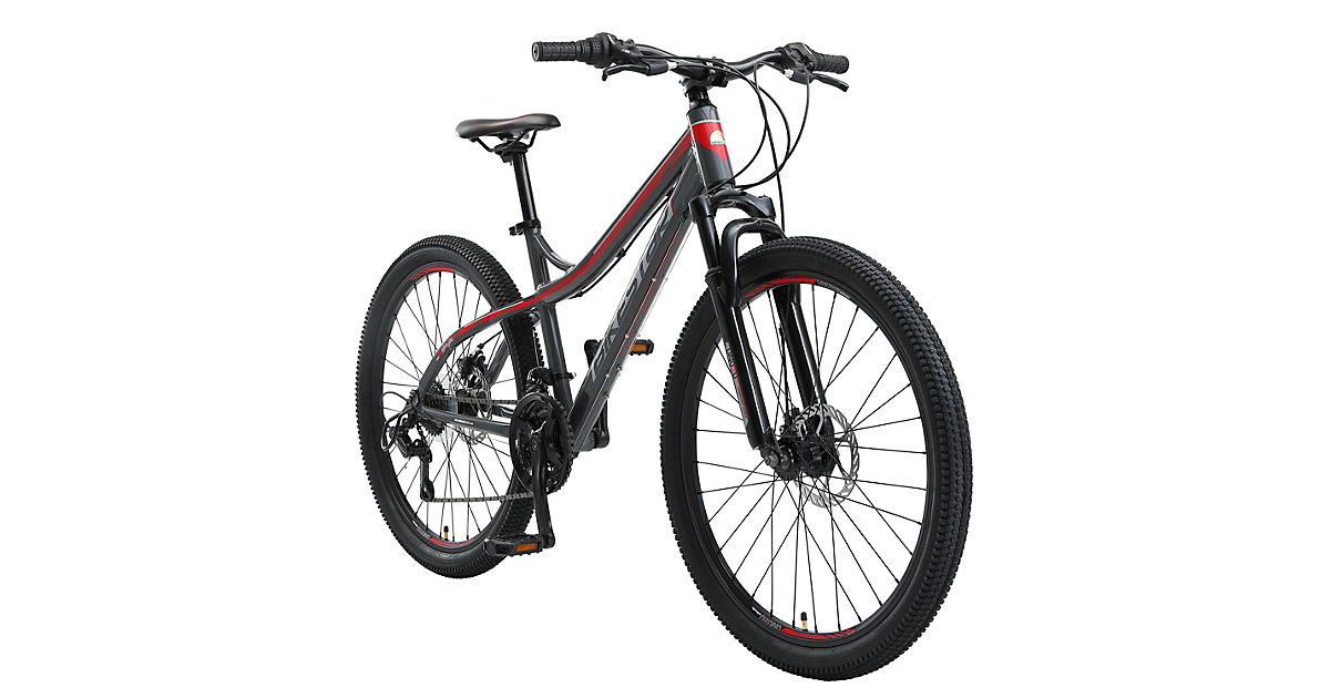 Fahrrad Hardtail 26 Zoll Alu MTB grau-kombi