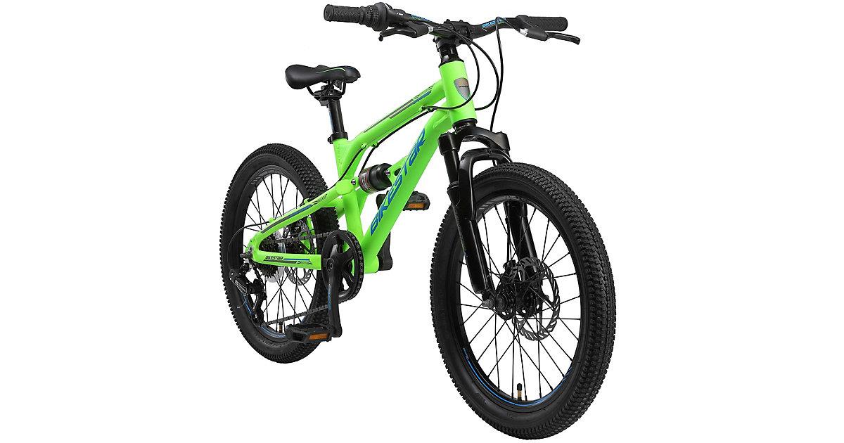 Kinderrad Fully MTB Alu 20 Zoll grün