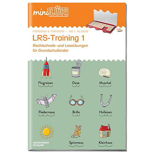Westermann Verlag mini LÜK: LRS-Training 1, Übungsheft jetztbilligerkaufen