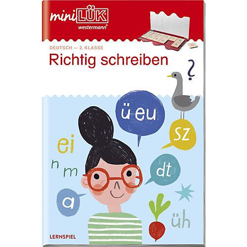 Westermann Verlag mini LÜK: Richtig schreiben 2. Klasse, Übungsheft jetztbilligerkaufen