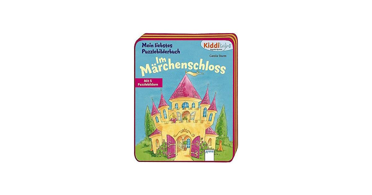 Kiddilight Mein liebstes Puzzlebilderbuch: Im Märchenschloss