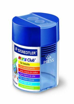 Noris Club® Doppelspitzdosen 512 blau transparent, Ausführung: rund Anspitzer