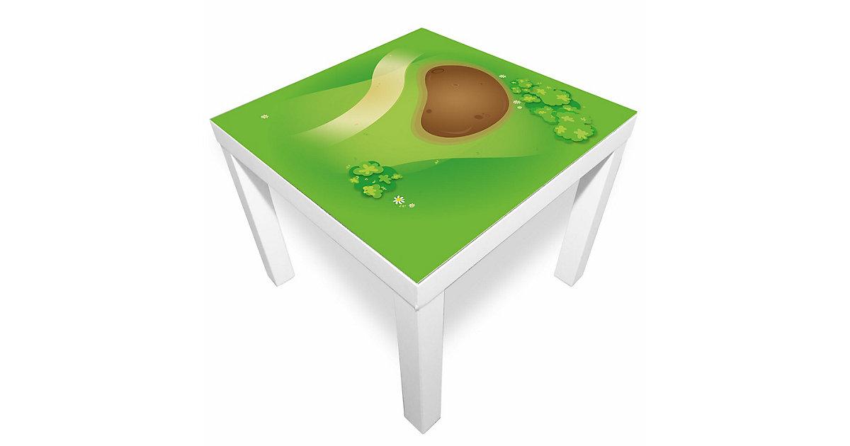 Spielmatte - Graslandschaft mit Matsch grün-kombi