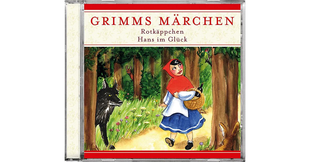 CD Grimms Märchen Rotkäppchen / Hans im Glück Hörbuch