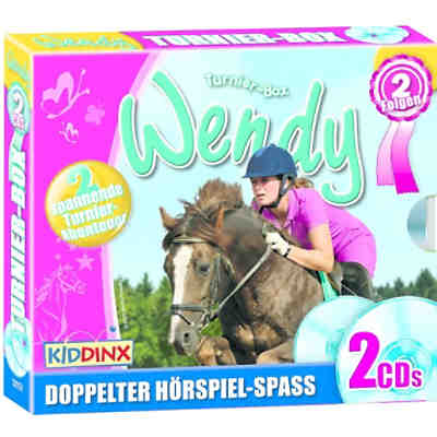 CD Doppel-Boxen Wendy - Turnier-Box