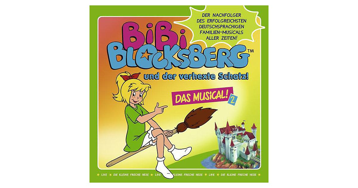 CD Kindermusik Bibi Blocksberg - und der verhex...