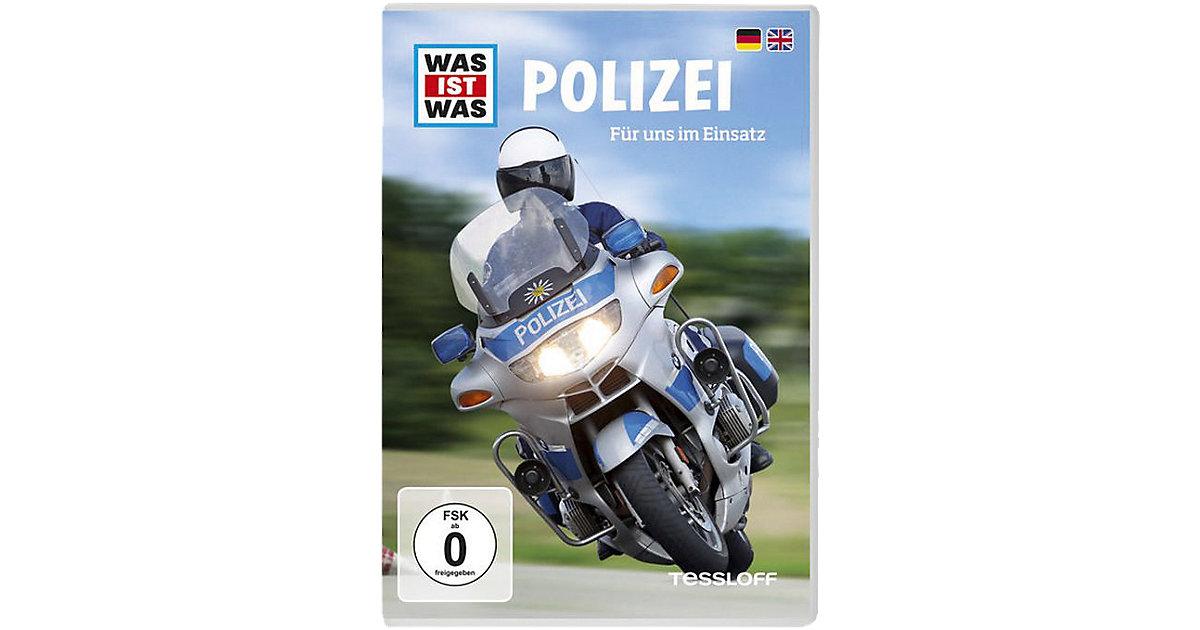 DVD Was ist Was - Polizei Hörbuch