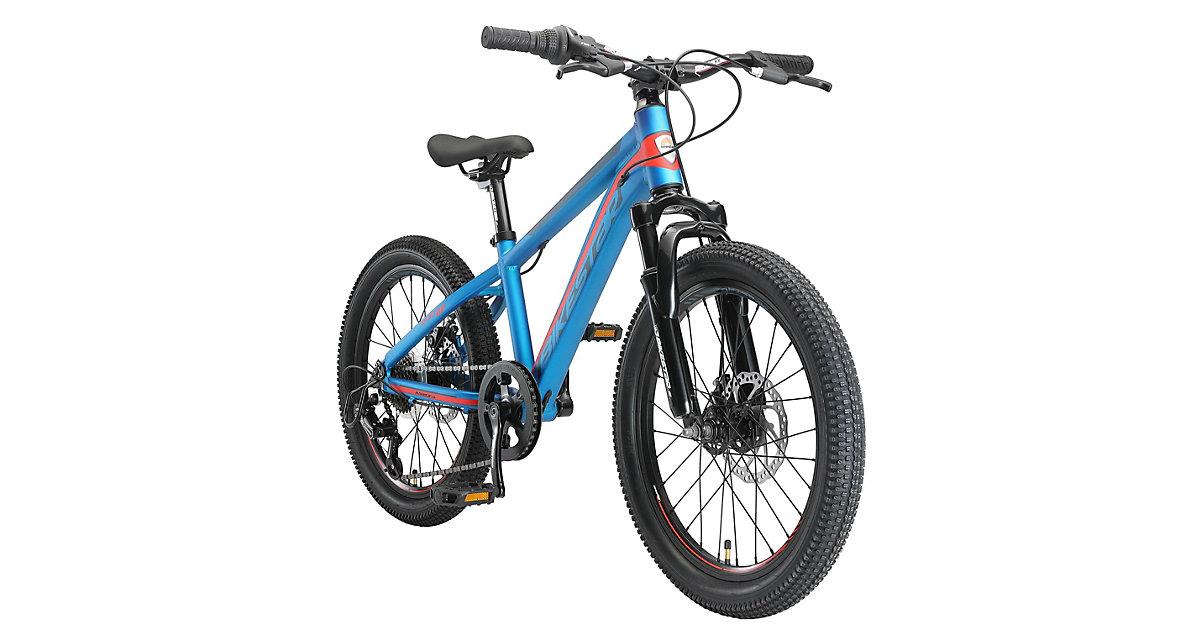 Kinderrad 20 Zoll Alu MTB Sport blau/orange