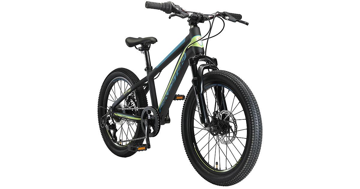 Kinderrad 20 Zoll Alu MTB Sport schwarz-kombi