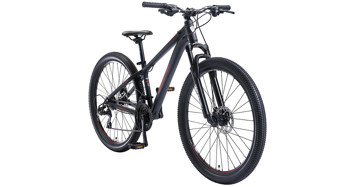 Image of Fahrrad 27,5 Zoll Alu MTB Sport Small schwarz/rot
