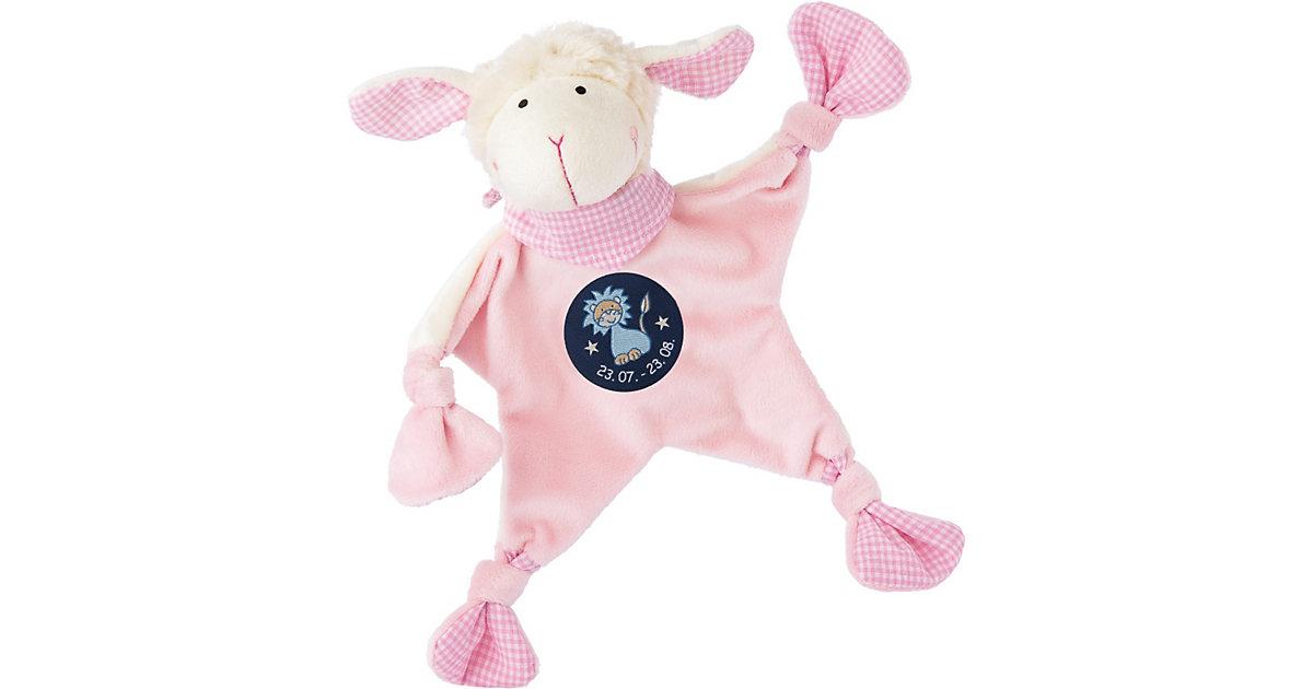 Schmusetuch Sternzeichen Löwe, rosa (48820)
