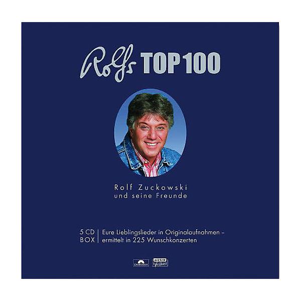 3c8f0ebcbb67b9 CD Rolf Zuckowski und seine Freunde - Rolfs Top 100 - 5 CDs ...