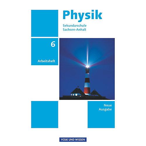 Cornelsen Verlag Physik, Sekundarschule Sachsen-Anhalt, Neue Ausgabe: 6. Schuljahr, Arbeitsheft jetztbilligerkaufen