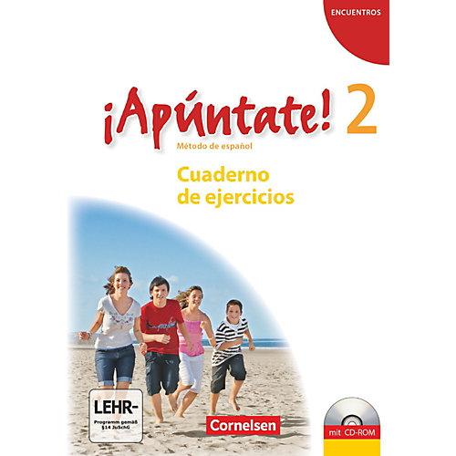 Cornelsen Verlag sApúntate! - Spanisch Gymnasien: Cuaderno de ejercicios, m. CD-ROM/Audio-CD Kinder jetztbilligerkaufen